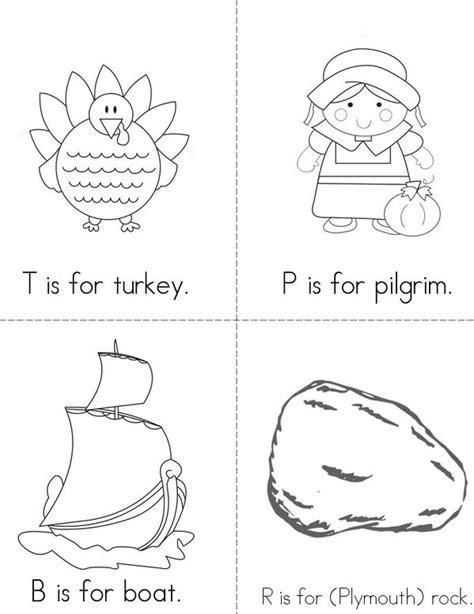 printable turkey mini books abc s of thanksgiving book twisty noodle