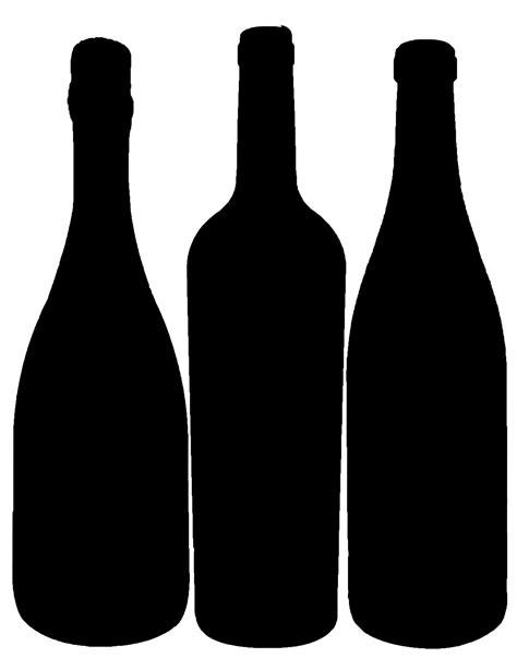 wine silhouette bottle silhouette cameo svg silhouette