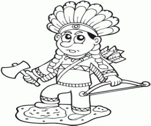 indian chief coloring page native north american indians coloring pages printable games