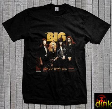 Kaos Distro Musik Mr Big Rock Band dinomarket pasardino kao mr big american rock band t