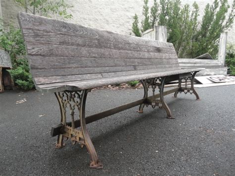 antique railroad bench antique iron fence and driveway gates tables beds for sale in pa oley valley
