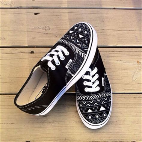 tribal pattern vans aztec tribal vans