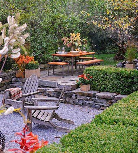 backyard sitting areas 23 simply impressive sunken sitting areas for a
