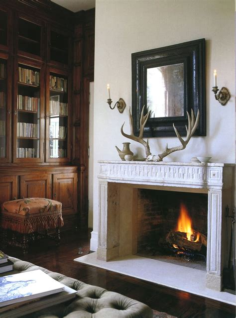20 brilliant and inspiring home libraries dk decor 20 great fireplace mantel decorating ideas laurel home blog