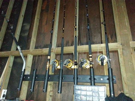 diy fishing rod holder wall mount cheap tacoma world
