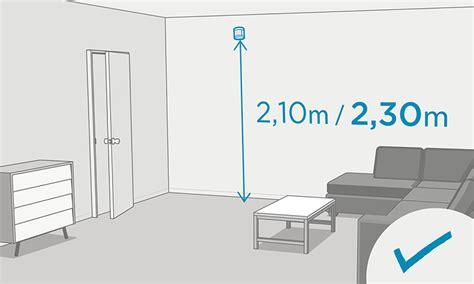Installation Detecteur De Mouvement by Positionnement Et Installation Du D 233 Tecteur De Mouvement