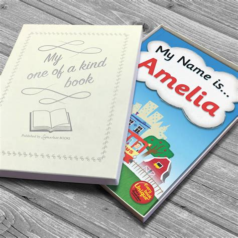 personalised name story book by letteroom