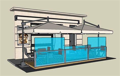 gazebo per esterno bar gazebo in alluminio e vetro bellavista system gazebo