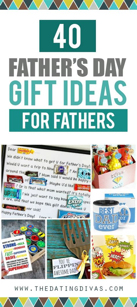 day ideas for 105 s day gift ideas for all fathers the dating divas