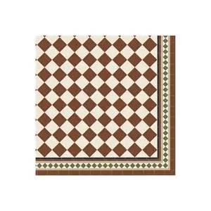 Original style floor tile oxford pattern