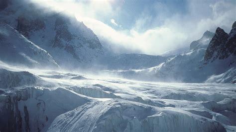 Ice mountains hd desktop wallpaper wallpapercow com