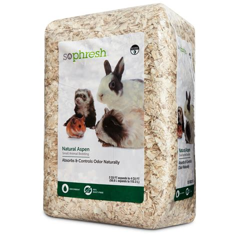 small animal bedding so phresh natural aspen small animal bedding petco