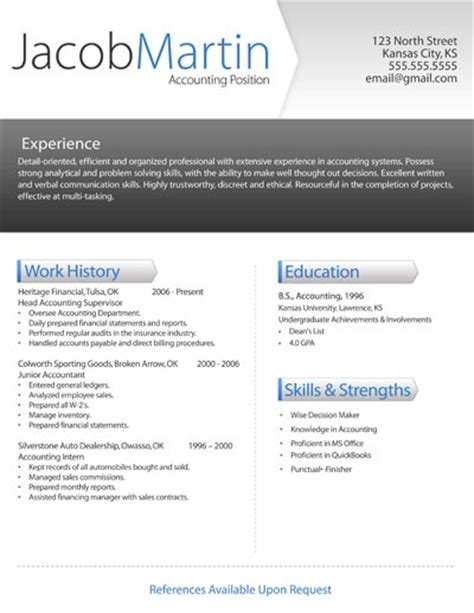 the most brilliant modern resume template free download resume