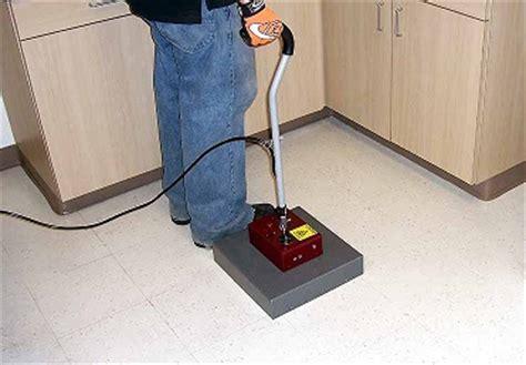 Tile Removal Novatek N100 Novastrip Infrared Heat Floor Tile Removal