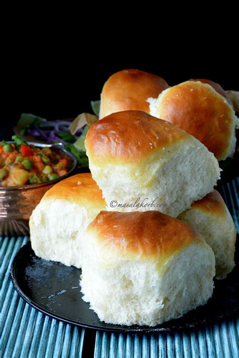 pav bread eggless ladi pav bread buns recipe mumbai pav masalakorb