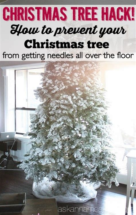 how to prevent your christmas tree from getting needles