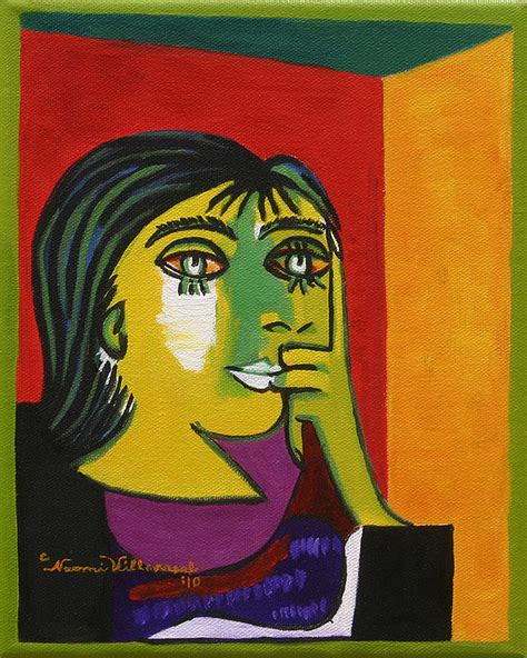 picasso paintings pdf maar after picasso painting by villarreal