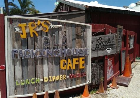 packing house sarasota j r s old packinghouse cafe is a funky old florida classic