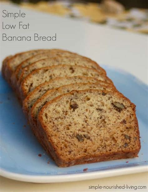 banana bread weight watchers recipe simple low banana bread recipe simple nourished living
