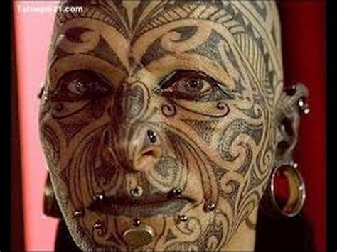 2 extreme tattoos ta gesichtstattoo youtube
