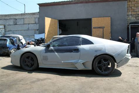 lamborghini reventon replica on a mitsubishi eclipse car