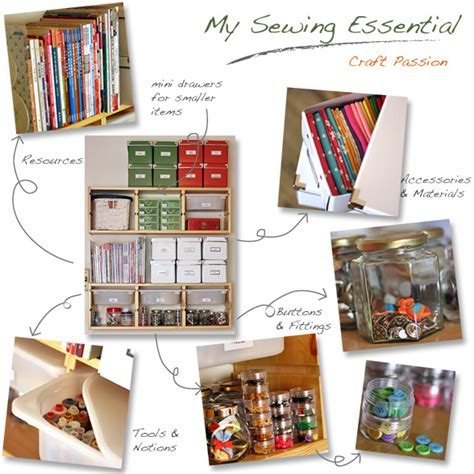sewing pattern organization ideas let it shine design big creativity from a small space