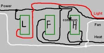 Broan Heat Vent Light Broan Heater Electric Broan Wiring Diagram And Circuit