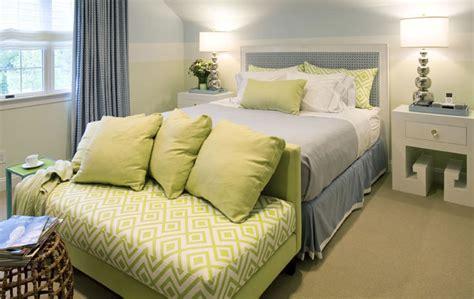 blue  green bedroom cottage bedroom willey design