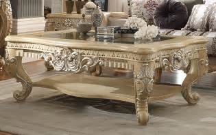 Victorian palace homey design hd 7266 coffee table usa furniture
