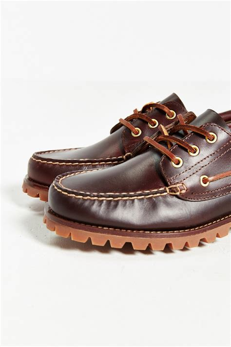 eastland oxford shoes eastland seville 1955 oxford shoe in brown for lyst