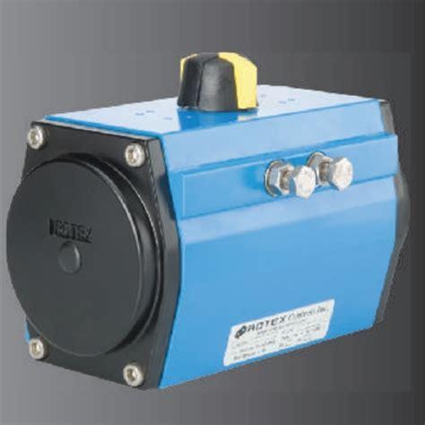rotex rack pinion valve actuator ecv series