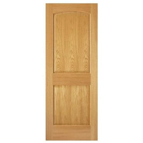 solid interior doors home depot steves sons 32 in x 80 in 2 panel arch solid core oak