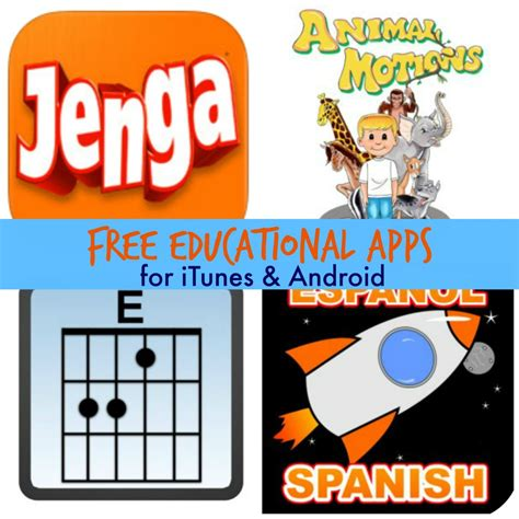 is there an itunes app for android free educational apps for itunes android jenga for more free homeschool