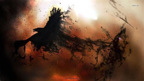 raven wallpaper abyss raven wallpaper and background image 1366x768 id 482723