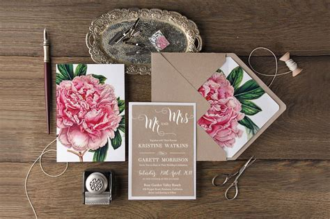 The Wedding Invitation Shop by Botanical Wedding Invitations From 4lovepolkadots Green