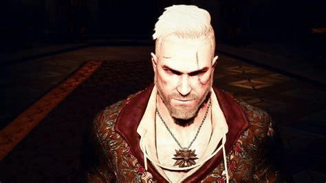 witcher 2 hairstyles stylish hairstyles for geralt at the witcher 3 nexus