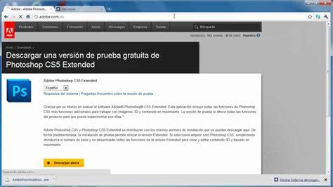 youtube tutorial adobe photoshop cs5 en español como descargar adobe photoshop cs5 youtube
