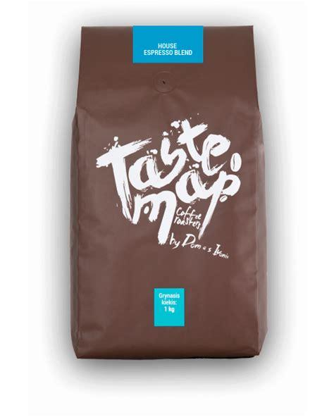 kava house šviežiai skrudinta kava house espresso blend 1kg assorti lt