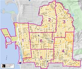 of california berkeley cus map map of building inspector areas city of berkeley ca