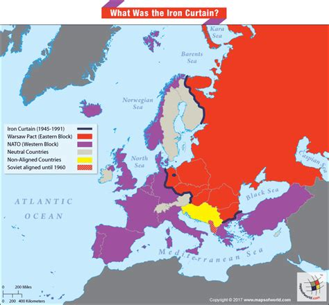 iron curtain countries map what was the iron curtain answers