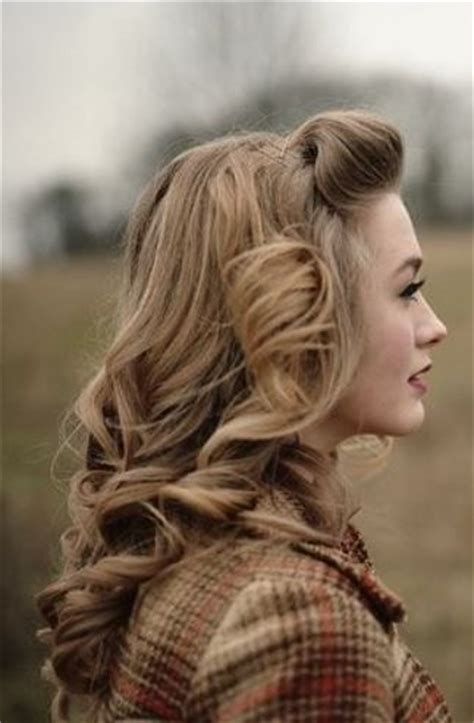 haircolor for forties 25 best ideas about vintage long hair on pinterest
