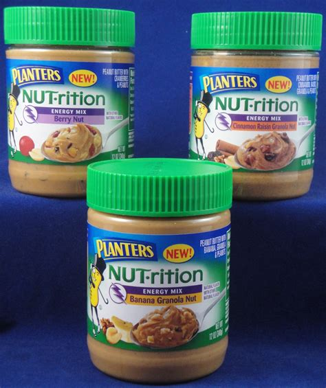 Planters Nut Rition Peanut Butter by Planters Nut 183 Rition Peanut Butter With Energy Mix Flavor