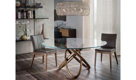 mesa de comedor redonda carioca cattelan de lujo en