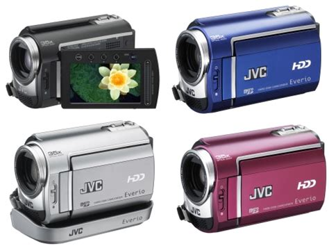 Handycam Jvc Hardisk jvc rolls out new everio hdd camcorders slipperybrick