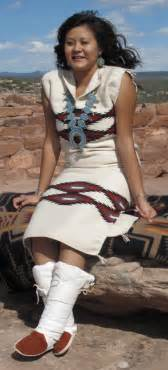there is no substitute the navajo biil dress weaving in