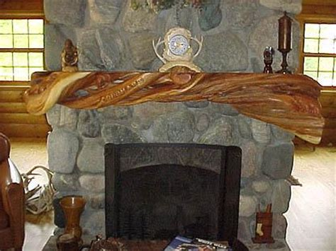 unique fireplace mantels log mantels twisted juniper