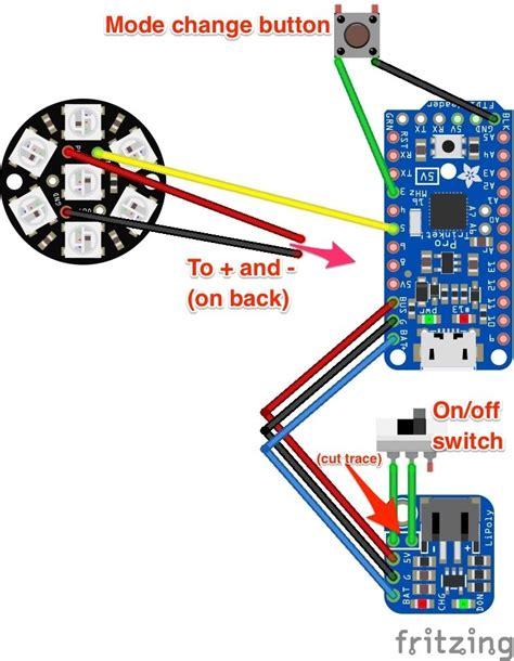 wiring diagram fiber optic whip adafruit learning system