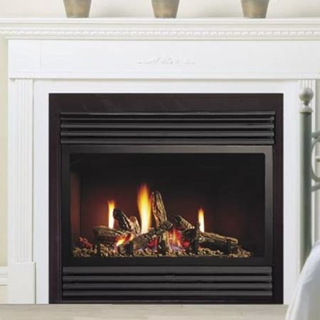 gas fireplace clearance fireplaceinsert kingsman zero clearance direct vent gas fireplace zdv3318