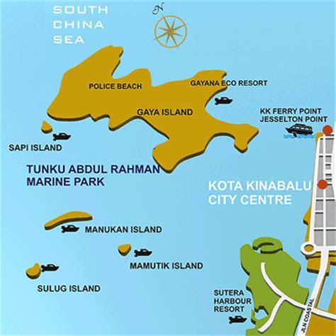 bajau si manuk si manuk pelancong tegar sabah best tunku abdul rahman marine park