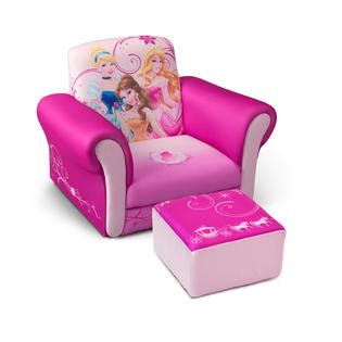 Princess Upholstered Chair by Delta Children Disney Princess Upholstered Chair With Ottoman